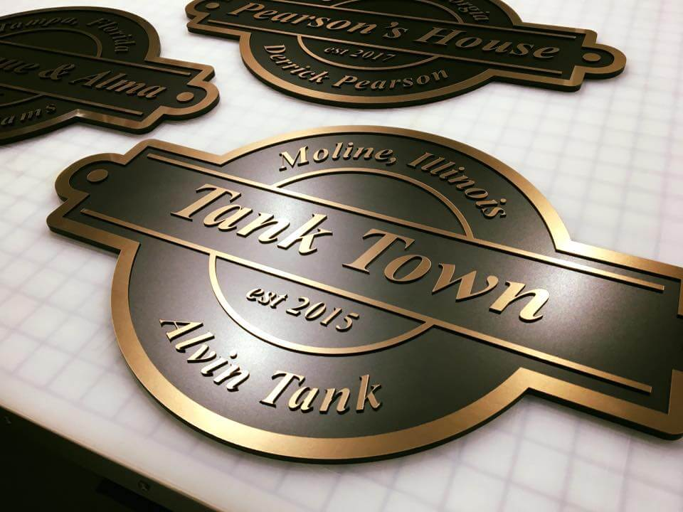 Bronze Plaques For Our Clients Hall Of Fame Wall KC Custom - Custom vinyl decals kansas city