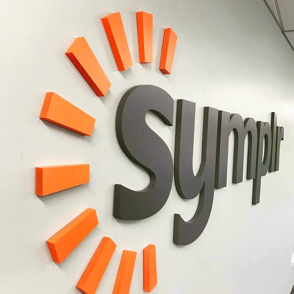 Symplr Custom Cut Out Letters