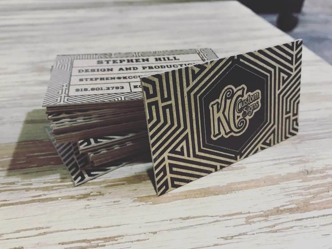 Chipboard business cards kc custom signs custom signs belton chipboard business cards colourmoves