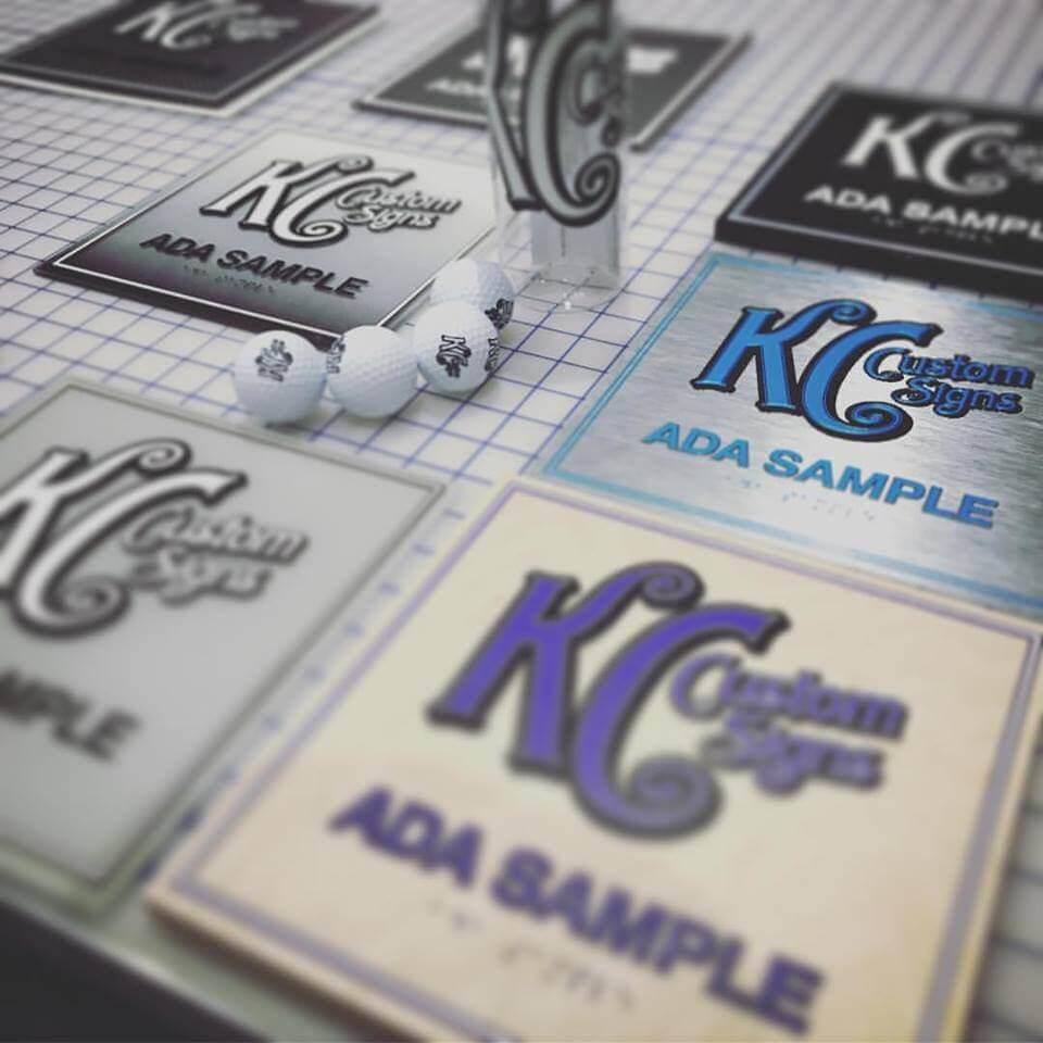 ADA, Custom Signs, Laser, CNC