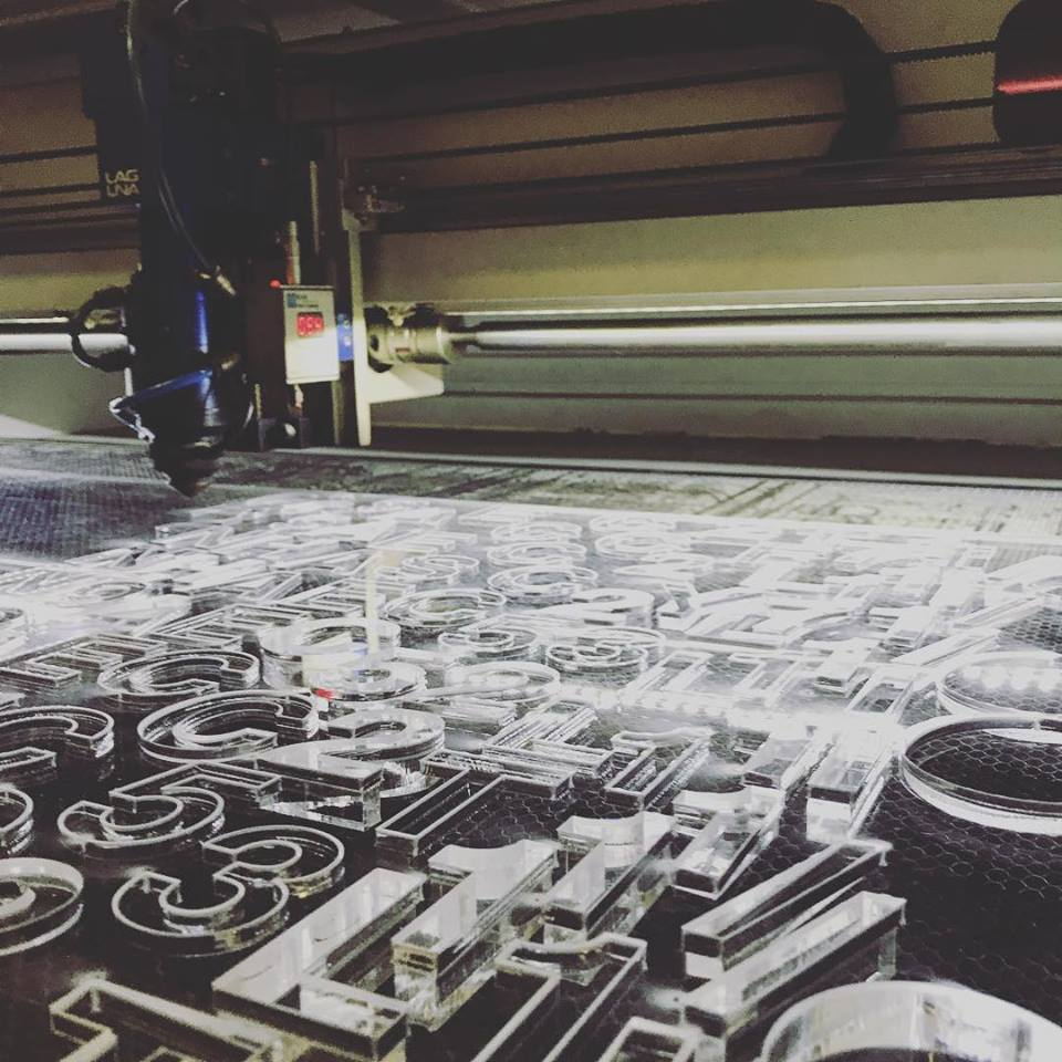 Laser Cutting Acrylic